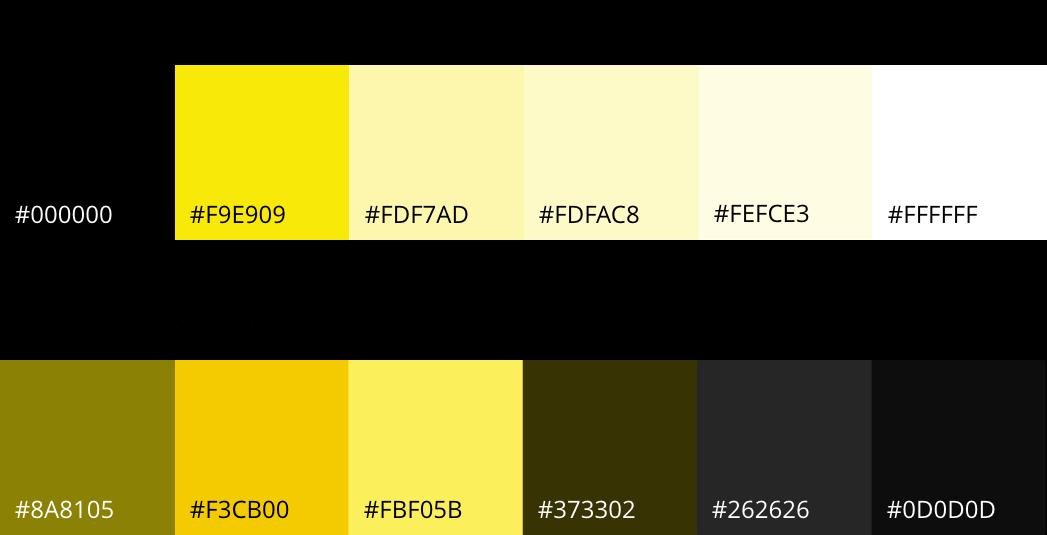 Color Palette used in Bikry App